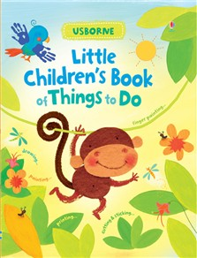 Little children`s book of things to do