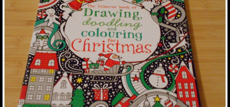 The Uborne book of Drawing, doodling and colouring for Christmas