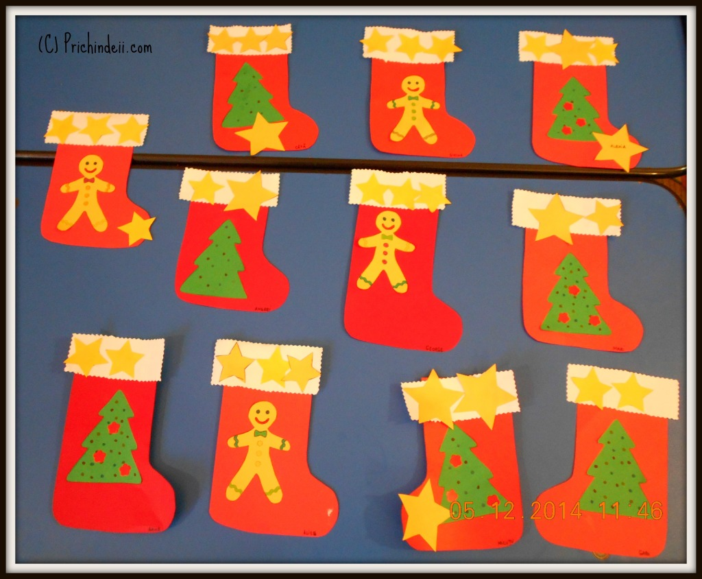 Santa Stocking craft