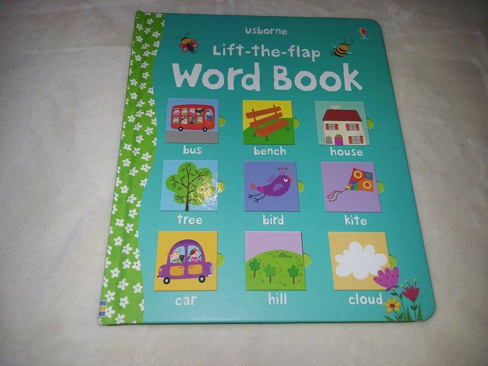 flip flap word book