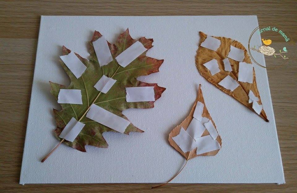 leaf collage preschool